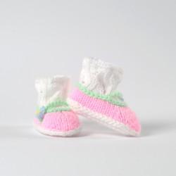 Buciki balerinki Little Pink Handmade
